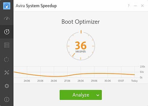 Avira System Speedup Utilitaires