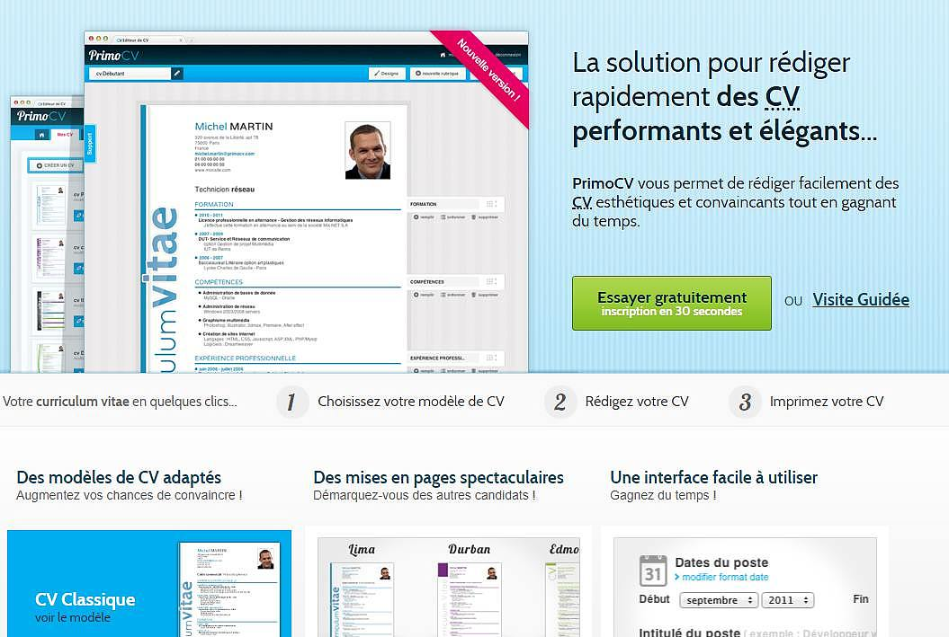PrimoCV Finances & Entreprise