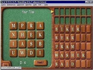WordZap Deluxe Jeux