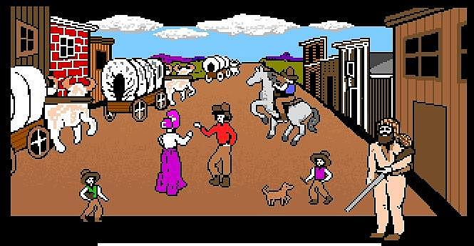 The Oregon trail Jeux