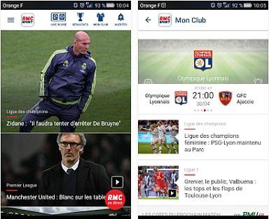 RMC Sport pour Android Maison et Loisirs