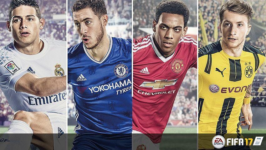FIFA 17 Jeux