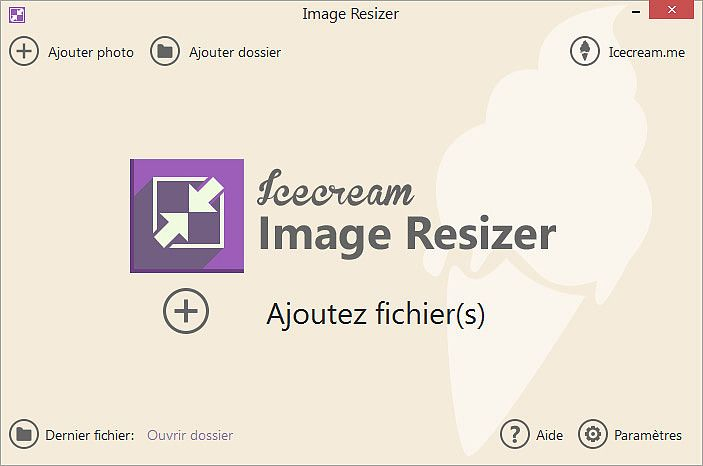 Icecream Image Resizer 1.37 Multimédia