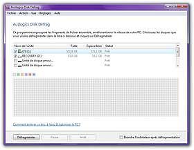 AusLogics Disk Defrag Utilitaires