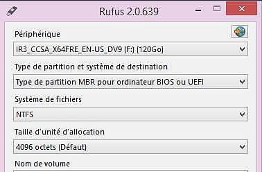 Rufus Utilitaires