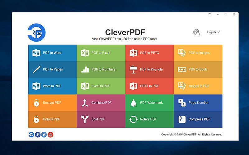 CleverPDF for Windows Bureautique