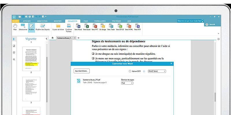 Wondershare PDFelement 5.10.1 Bureautique