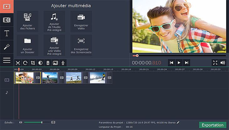 Movavi Video Editor Multimédia
