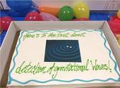 Gâteau ondes gravitationnelles Photos