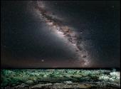 Les cratères de Henbury par une nuit étoilée Photos