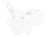 coloriage pokemon-Evoli