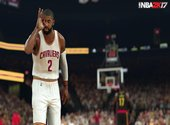NBA 2K17 Kyrie Irving Fonds d'écran