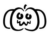 Pochoir Citrouille-Halloween Dessins & Arts divers