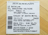Une du Zeit Magazin : Hommage au 13 Novembre Photos