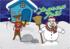 Carte de vœux Joyeux Noël