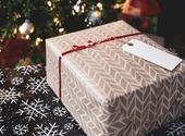 Paquet cadeau pour Noël Photos