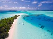 Plage Maldives Fonds d'écran