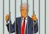 Trump derrière les barreaux