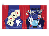 Carton d'invitation gratuit - La Magie