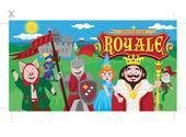 Carte d'invitation - thème Royal