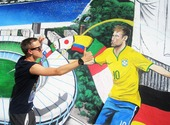 Fresque Neymar  Photos