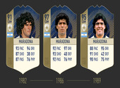 FUT 18 - Maradona  Dessins & Arts divers