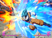 Dragon Ball FighterZ - Goku Super Saiyan Blue Dessins & Arts divers