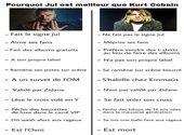 Pourquoi Jul est supérieur à Kurt Cobain Photos