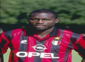 George Weah Milan AC Photos