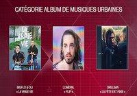 Victoires de la musique 2018 - Musique urbaine