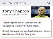 Tony Chapron Wikipedia