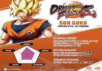 Coups spéciaux de Goku DragonBall FighterZ