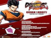 Coups Gohan Adulte dans DragonBall FighterZ Fonds d'écran