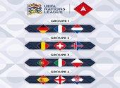 Ligue des nations - Groupe de la France  Fonds d'écran