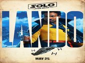 Poster Lando - solo - A star Wars story