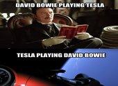 Mème Bowie et Tesla