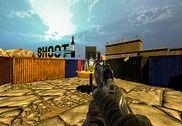 Bottle Shoot 3D Shooting Range Jeux