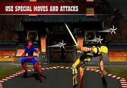 Ninja guerrier karaté combat: kung fu tigre 2017 Jeux