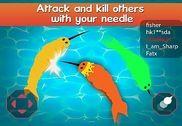 Needle.io narwhale Jeux