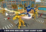 Panthère Superhero Venger vs Crime City Jeux