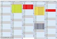 Calendrier php avec descriptif par jour PHP