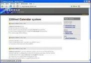 2200net Calendar system PHP