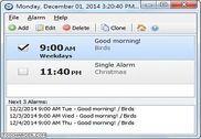 Free Alarm Clock Bureautique