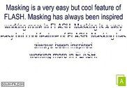 Blinds Masking Effect Flash
