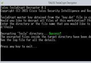 Talos - Tesla Decrypt Sécurité & Vie privée