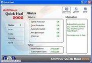 Quick Heal Anti-Virus 2006 Sécurité & Vie privée