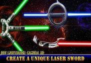 Sabre laser Jedi. Combat laser Jeux