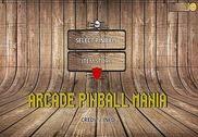 Arcade Pinball mania Jeux
