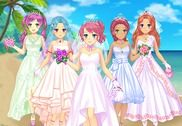 Mariage Manga Jeux d'habillage Jeux