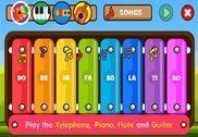 Apprendre la musique et les chansons - Xylophone Jeux